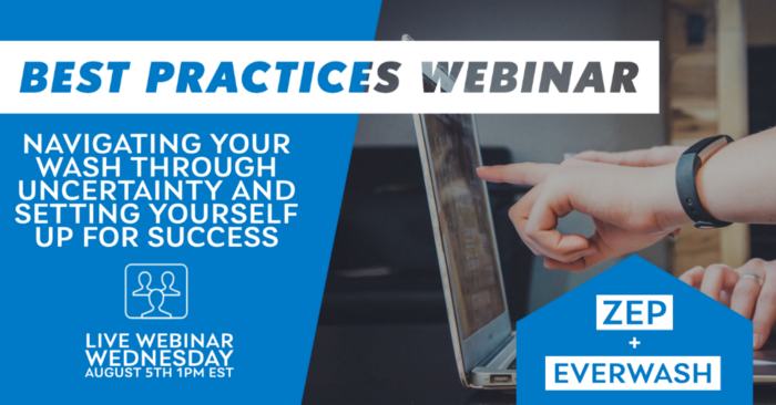 "ICYMI: Recap EverWash's ""Navigating Through Uncertainty"" Webinar"