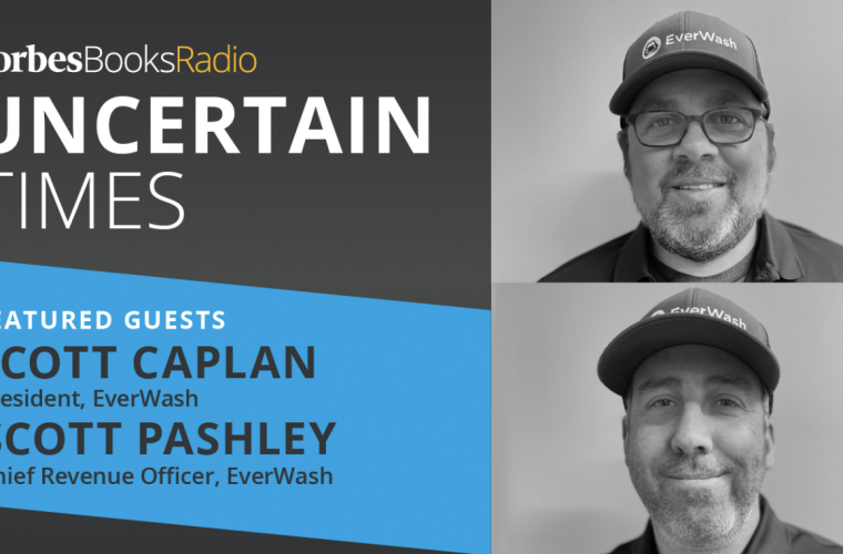 EverWash Featured on Forbes Books Radio Podcast Hosted by Joe Pardavila