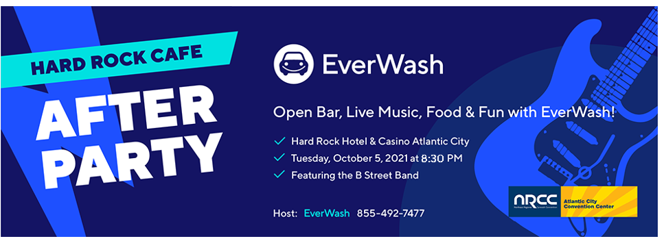 Rock the Night Away w/EverWash @ Our NRCC After Party!